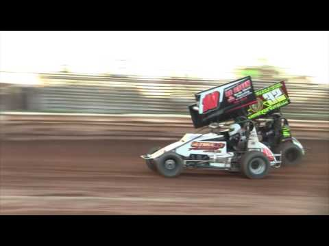 Susquehanna Speedway Super Sportsman and ARDC Midget Highlights 8-27-16