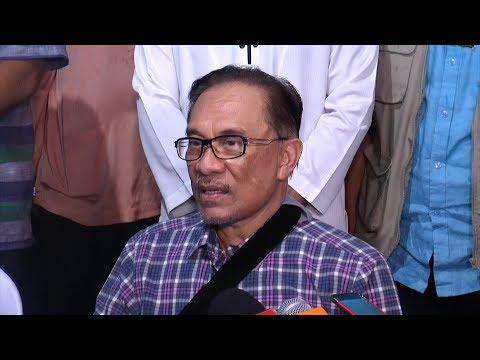 Anwar denies Mahathir - Azmin conspiracy (full press conference)