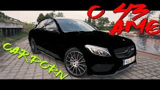 ** Mercedes Benz C43 AMG **  | Shortcut | CARPORN  | Folienprinz