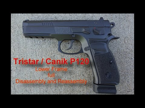Canik / Tristar P120 Lower Frame disassembly / Reassembly