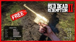 Red Dead Redemption 2 - How To Get FREE Weapons - The Best RARE Guns In Red Dead Redemption 2! Video