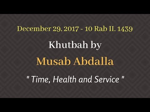 Khutbah 12/29/2017