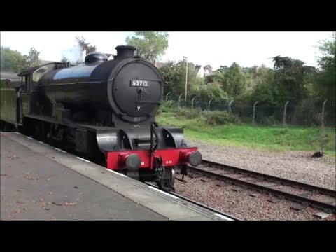 GCR Autumn Steam Gala - D49 'Morayshire' 62712 (02/10/2014 ...