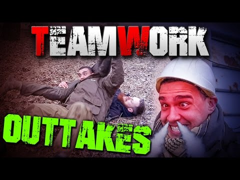 *OUTTAKES* TEAMWORK mit Survival Mattin - Outdoor Survival Bushcraft - Deutschland