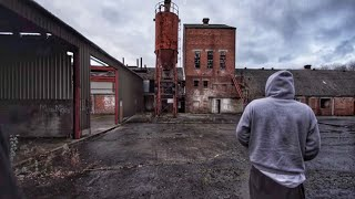 Exploring a Rubbish Abandoned Factory & We Saved a Rabbit