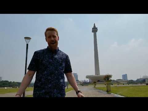 TARCAN host Jon Monty in Jakarta for Season 6: Heroes' Edition!