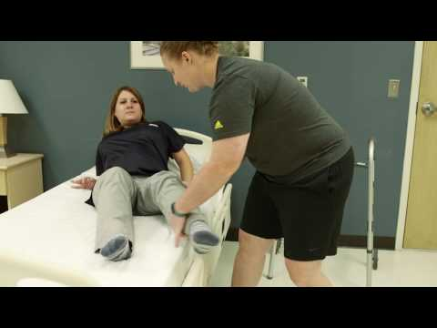 download Bed Transfer after hip replacement