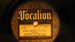 Washboard Rhythm Kings: Blue Drag