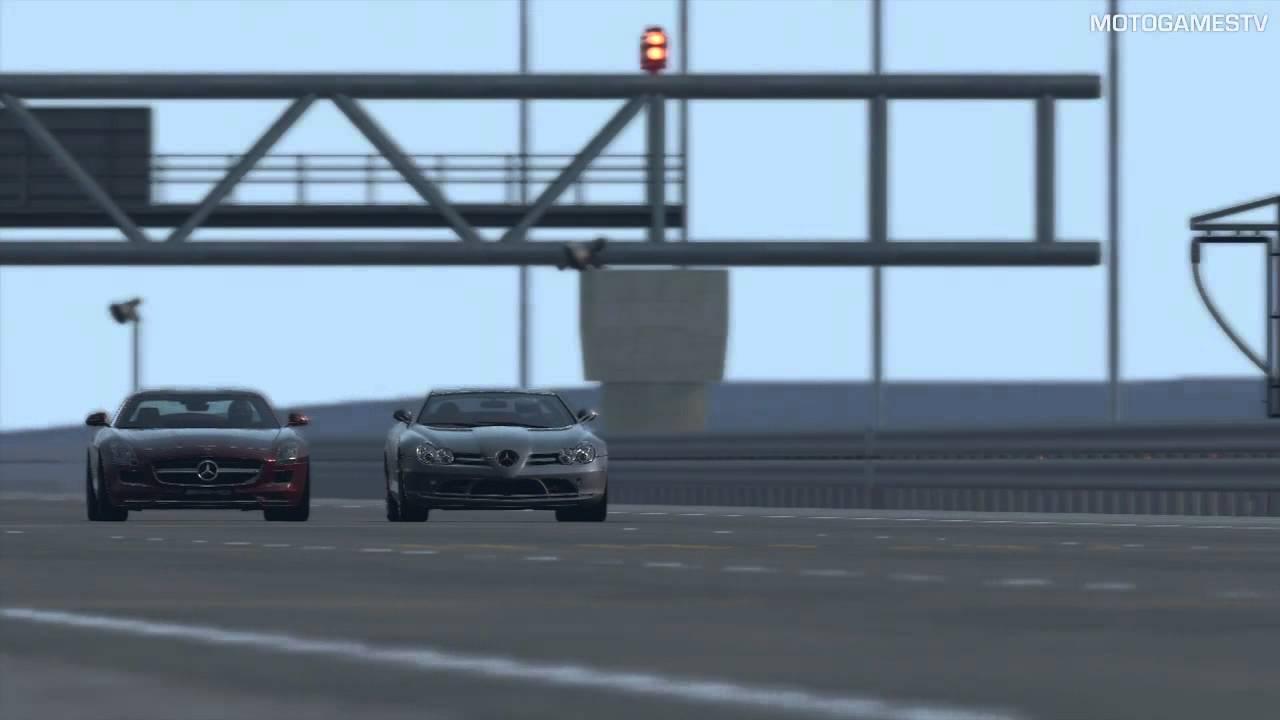 Gran Turismo 5 Mercedes Mclaren Slr Vs Mercedes Sls Amg