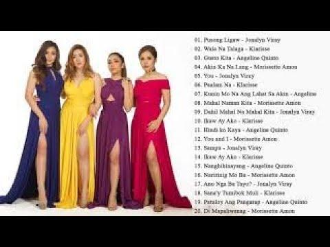 Angeline, Morissette, Jona & Klarisse Opm Tagalog Love Songs 2018