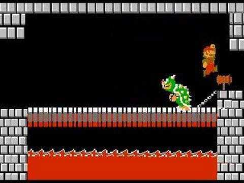 Wallpaper Falling Off Mario Versus Bowser Bloopers Youtube
