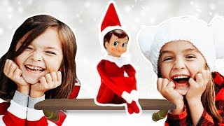 ELF on the SHELF controls our DAY! stuck in SANTA's WOrKSHOp!
