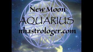 New Moon in Aquarius January 27, 2017