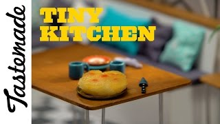 Tiny Pineapple Upside Down Cake l Tiny Kitchen