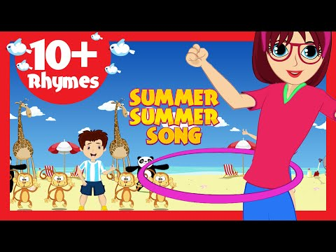 Summer Summer Song (10+ Rhymes) - Kids Poems In English