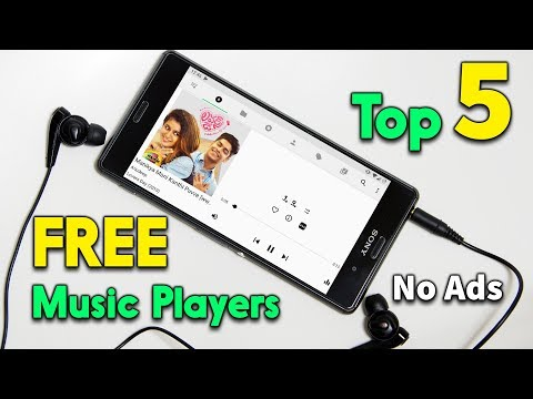 Top 5 Free Music Players[No Ads] With Unbelievable Features | Telugu