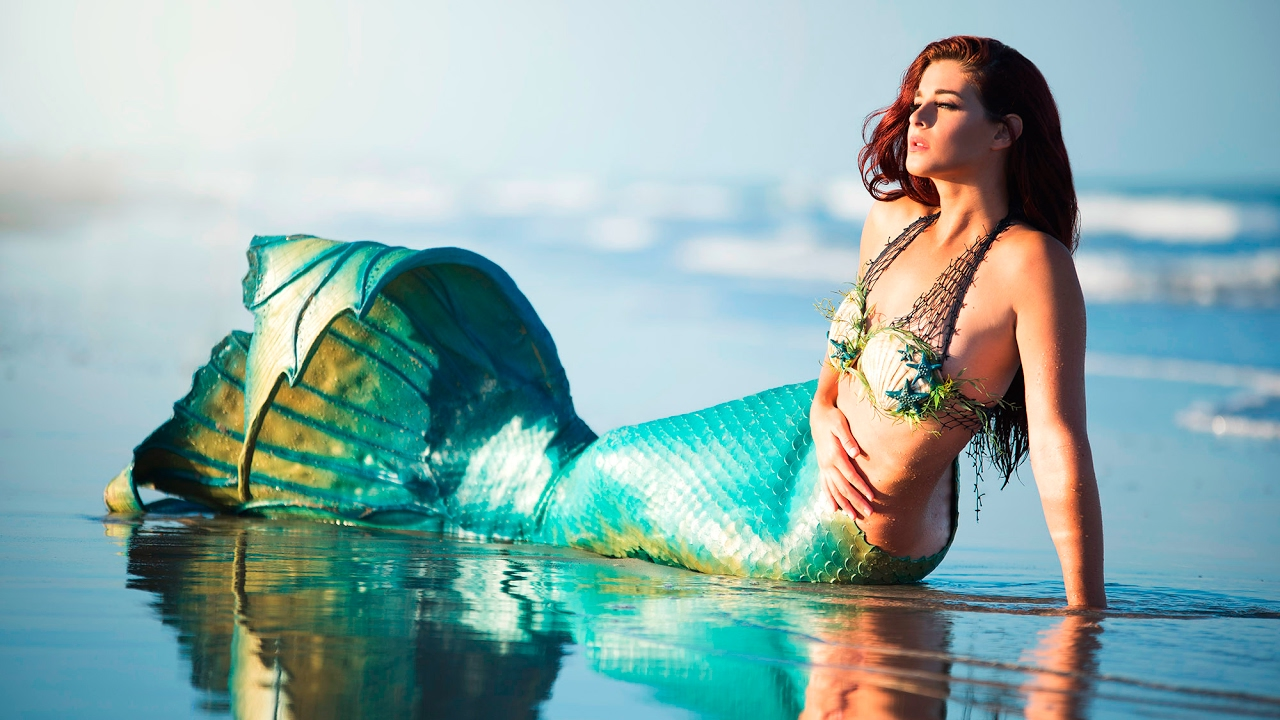 BTS MERMAID PHOTOSHOOT
