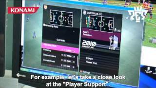 PES 2010: Key gameplay elements trailer