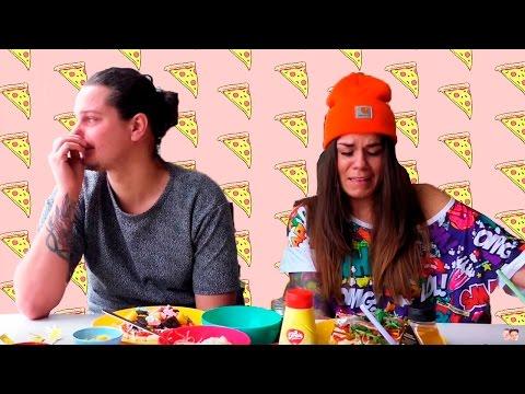 Pizza Challenge   Kristin & Dennis
