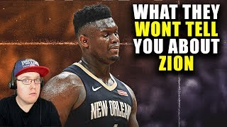 Reacting To What They Won't Tell You About Zion Williamson
