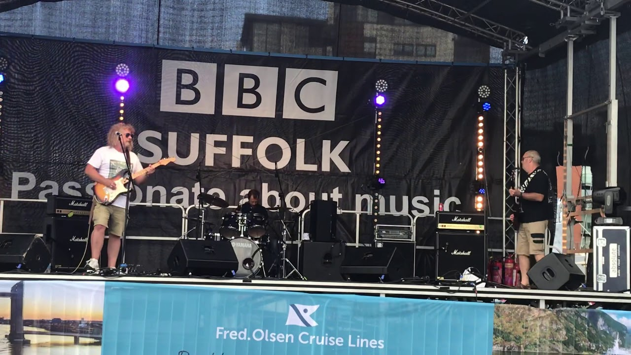 Ipswich Maritime festival BBC stage.  See the light