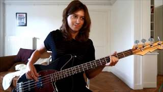 P!nk - A Million Dreams (Bass Cover) Video