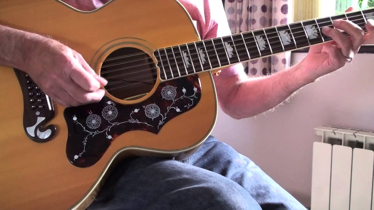 my grandfather s clock the shadows cover free bt tabs youtube