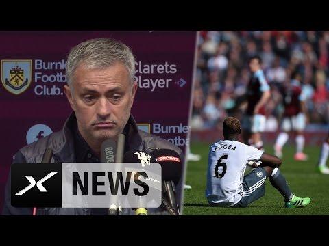 "Jose Mourinho besorgt: Paul Pogba? ""Ist ziemlich tot"" | FC Burnley - Manchester United 0:2"