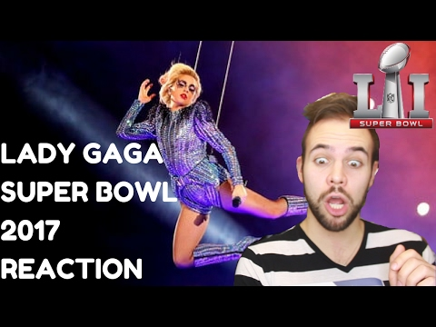 LADY GAGA SUPER BOWL 2017 HALFTIME  PERFORMANCE REACTION/REVIEW