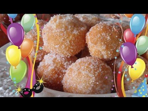 Ricetta di Carnevale Come Fare le Castagnole - Video Dolci Tipici
