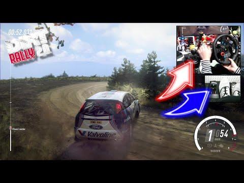 Ford Focus RS WRC Scotland / Logitech G29 DiRT Rally 2.0 DLC