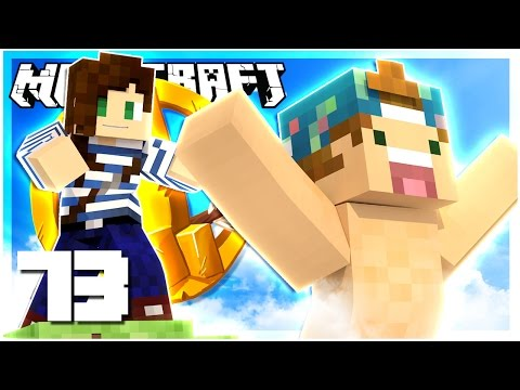 STACY PUSHED ME OFF A CLIFF! | HUNGER GAMES MINECRAFT w/ STACYPLAYS! | SEASON 2 EP 73