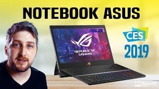 Notebook Asus 2019 confira lançamentos e destaques da Feira CES