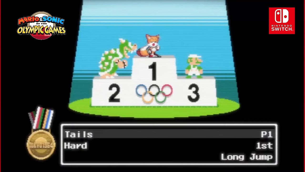 Mario Sonic Aux Jeux Olympiques De Tokyo 2020 Passe En