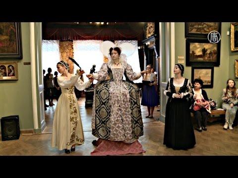 Моду средневековья показали в музее (новости)