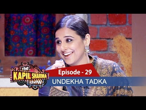 Undekha Tadka - Vidya Balan & Arjun Rampal | Ep 29 | The Kapil Sharma Show | Sony LIV
