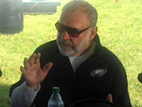 Oline Coach Howard Mudd: 2012 Eagles Training Camp 7-23-12