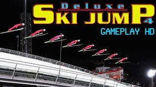 Deluxe Ski Jump 4 Gameplay PC HD
