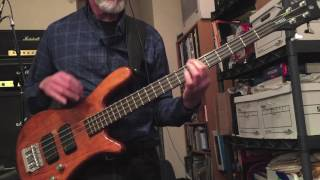 Reflections - The Supremes Bass Cover