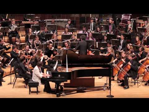 WILSON Concerto for Piano and Orchestra, Mvt. 3. Fireworks - UMD Symphony feat. Larissa Dedova