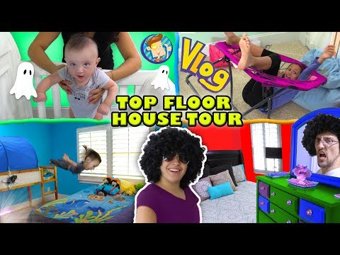 HOUSE TOUR 1 0  The Top Floor w  Lexi, Shawn, Chase, Mom & Dad Rooms FV Vlog