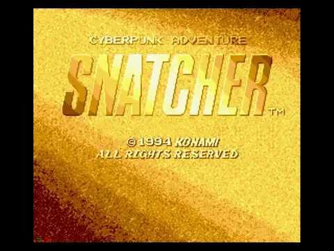 Snatcher Sega CD Intro