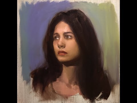 Portrait Painting Demonstration 7 (with excerpts on form)
