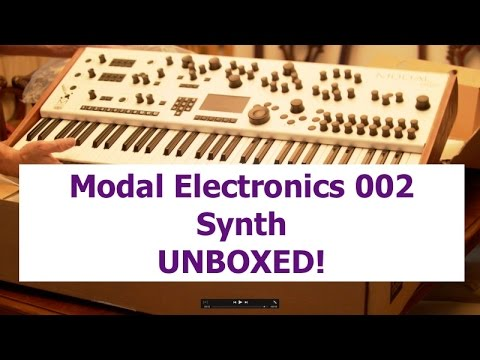 modal electronics 002 synth unboxing youtube. Black Bedroom Furniture Sets. Home Design Ideas