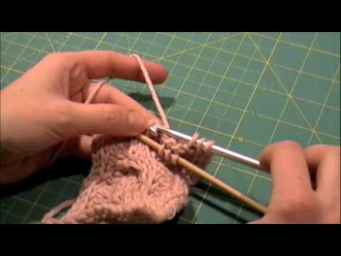 Crochet Stitches Tutorial Youtube : Tunisian Crochet Cabled Scarf Video Tutorial - YouTube
