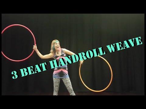 Mini hoop tutorial: 2 & 3 beat weave behind the back youtube.