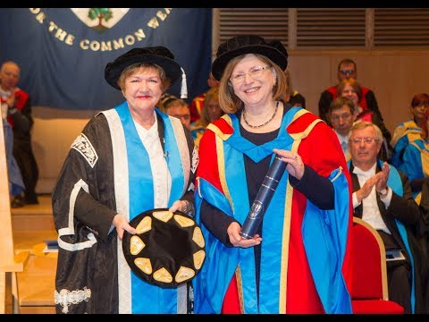 Lady Susan Rice OBE receives an honorary degree from GCU