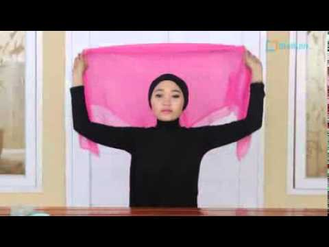 Video Hijab Tutorial Paris Segi Empat Modern Dan Simple