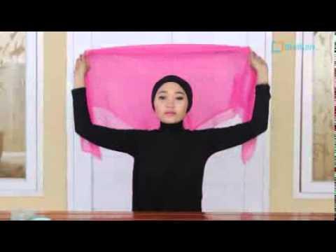 TUTORIAL Hijab Untuk Pesta,Simple Dan gak pake Ribett