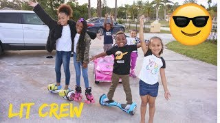 We met up with Pierre  Sisters and Super Siah- Family vlog